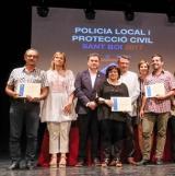 Diploma per serveis destacats a la comunitat per al Servei Local de Català de Sant Boi de Llobregat