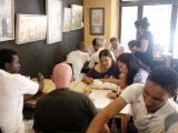 Cloenda de les sessions de llengua oral de Tortosa al Cafè dels Amics