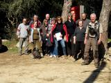 Excursió del Voluntariat per la llengua al turó d'en Galzeran