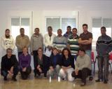 Acte d'entrega de certificats d'un curs d'acolliment lingüístic a Sant Jaume d'Enveja