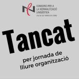 Els serveis del CNLTE tanquen el 10 de setembre per jornada de lliure organització