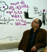 L'escriptor Jesús M. Tibau explica la seua experiència en una trobada de parelles lingüístiques a Tortosa