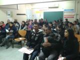 Primeres xerrades sobre tràmits d'estrangeria i cursos de català al CNL de l'Hospitalet