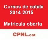 Oferta de cursos de català per a adults del primer trimestre 2014-2015 a les Terres de l'Ebre