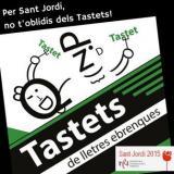 La nova edició del llibre 'Tastets de lletres ebrenques 2015' arriba per Sant Jordi