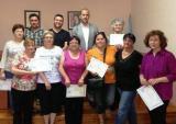 Acte de cloenda de les sessions puntuals de llengua catalana al Pinell de Brai