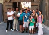 Ruta pel Renaixement amb els alumnes del curs Inicial d'estiu a Tortosa