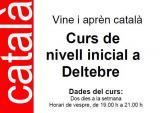 Oberta la inscripció per a curs de català de nivell inicial a Deltebre