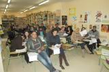 Comencen les classes d'un curs d'acolliment lingüístic a Flix