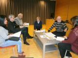 Sessió de formació dels grups Xerrem i Junts de Tortosa amb el professor Jordi Esteban