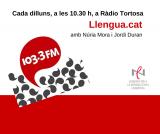 Finalitza la quinta temporada de 'Llengua.cat', espai lingüístic a Ràdio Tortosa