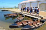 Visita d'alumnat i voluntariat lingüístic a l'espai Món Natura Delta de l'Ebre