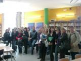 Visita de l'alumnat de Tortosa a l'exposició 'Xeic! Paraules de l'Ebre'