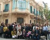 El voluntariat lingüístic visita la Tortosa modernista i el call